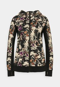 Roxy - FROST PRINTED - Zip-up sweatshirt - true black - 0