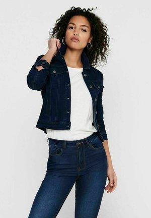 JDYNEWWINNER JACKET BOX - Denim jacket - medium blue denim