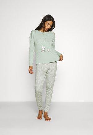 SNOOPY COTTAGE ENERGY  - Pyjama - green