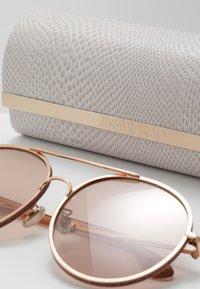 Jimmy Choo - LENI - Sunglasses - gold coloured/pink - 2