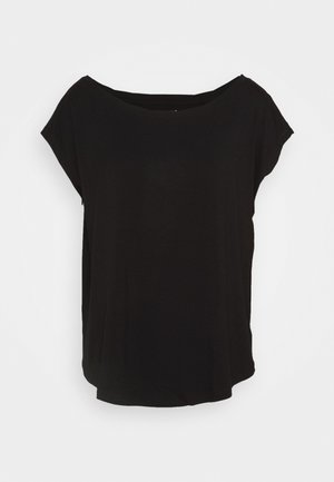 LUXE  - Basic T-shirt - true black