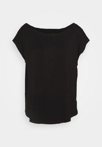 LUXE  - T-shirt - bas - true black