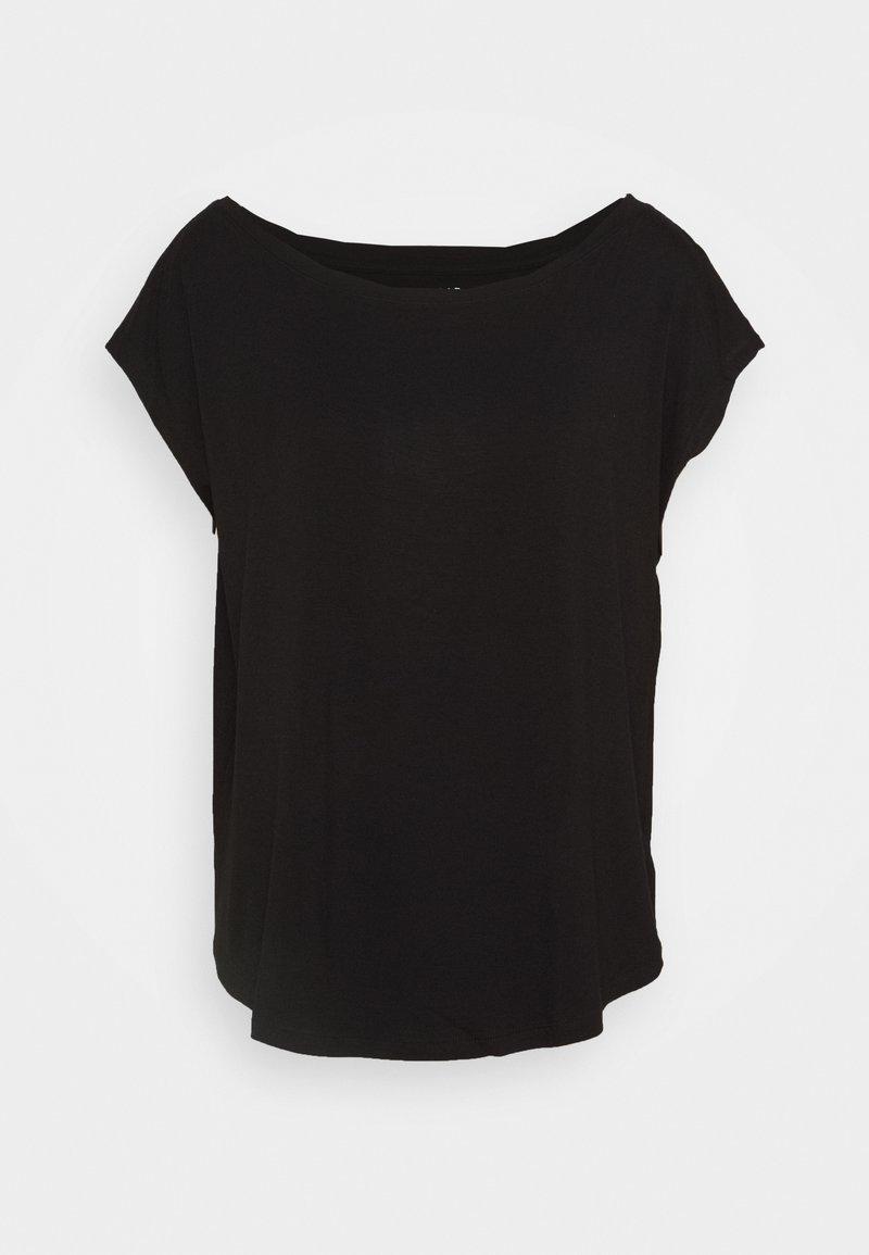 GAP - LUXE  - T-shirt basic - true black