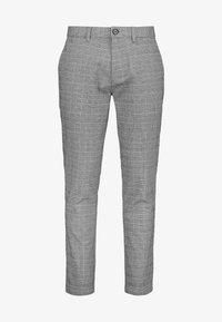Next - GREY TAPERED SLIM FIT CHECK CHINOS - Kalhoty - grey - 3