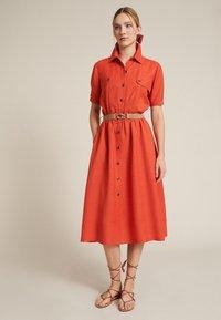 Luisa Spagnoli - PROVA - Shirt dress - arancio - 1