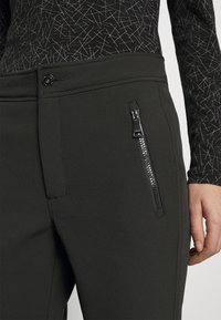 Luhta - GEBBELBY - Snow pants - black gunmetal - 5