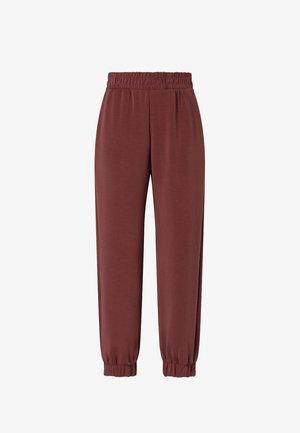 SOFT-TOUCH JOGGERS  - Pantaloni sportivi - bordeaux