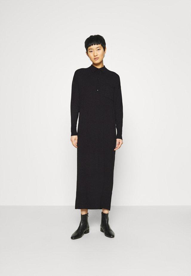 DEENA DRESS - Jumper dress - black