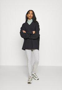 Topshop - NEW BRUSH JEGGER - Teplákové kalhoty - grey - 1