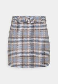 Gina Tricot - SAGA SKIRT - Mini skirt - blue - 4