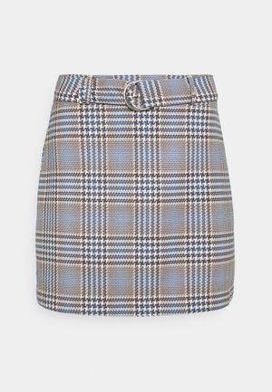 SAGA SKIRT - Mini skirt - blue