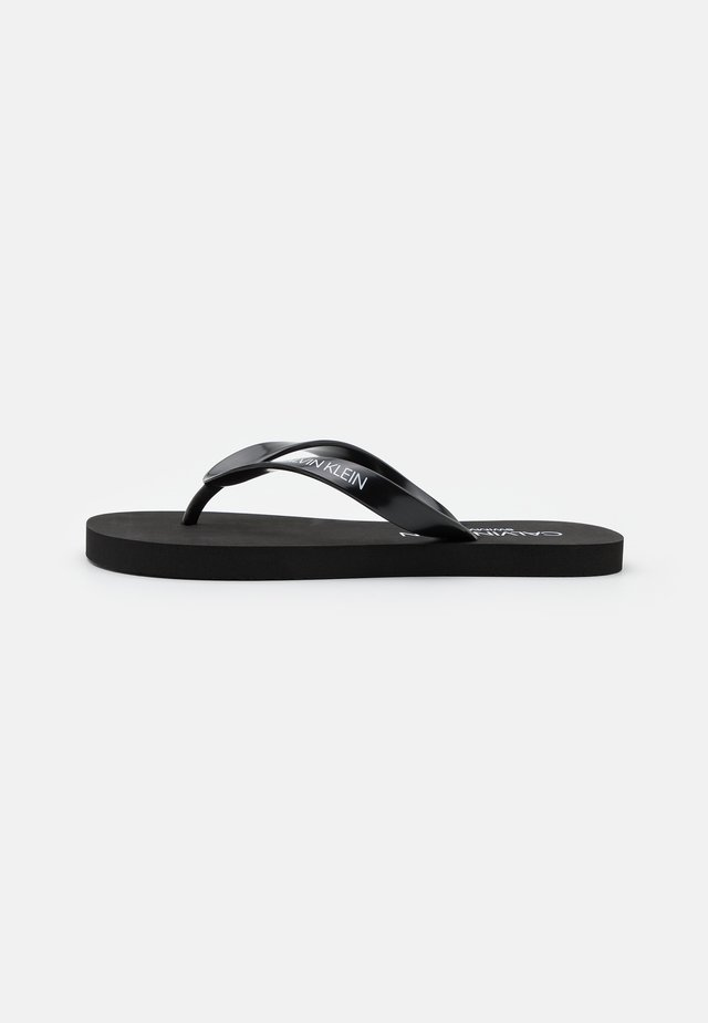 CORE SOLIDS - T-bar sandals - black