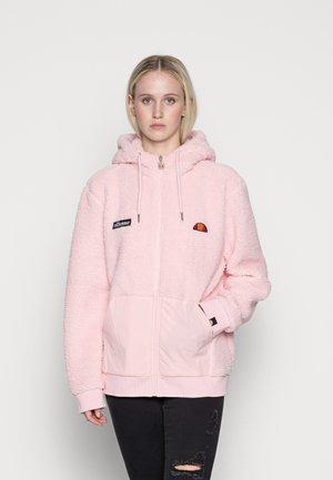 AVO - Mikina na zip - light pink