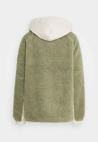 Missguided Tall - OVERSIZED BORG MIX - Winter jacket - sage - 1