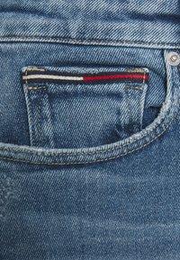 Tommy Jeans - CLASSIC SKIRT - Mini skirt - blue denim - 2