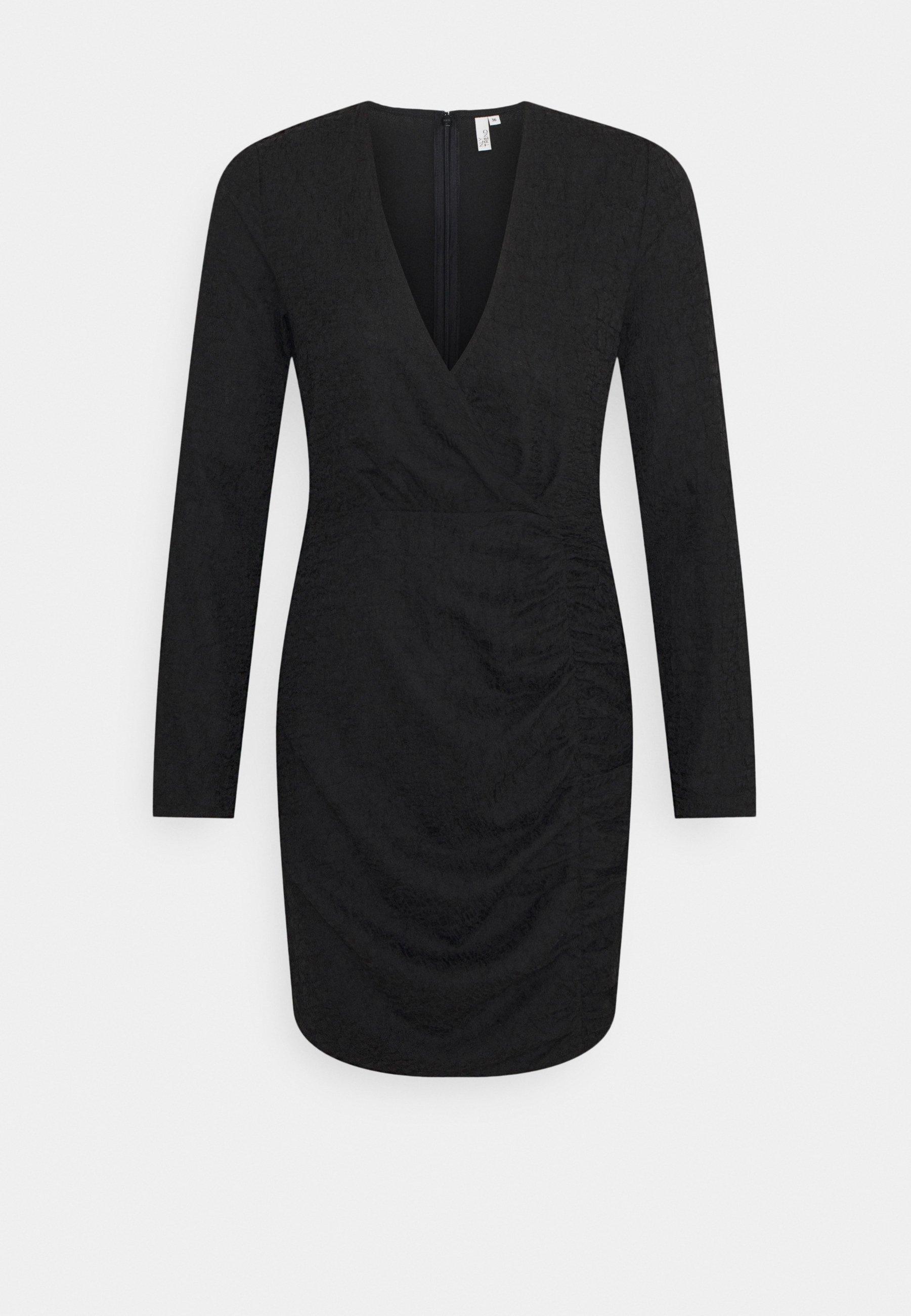 Women RUCHE JACQUARD DRESS - Day dress