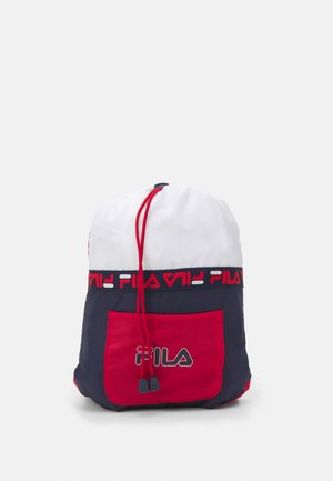 SOFT DRAWSTRING BACKPACK UNISEX - Sportovní taška - black iris/true red/bright white