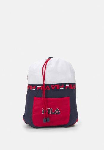 SOFT DRAWSTRING BACKPACK UNISEX - Sports bag - black iris/true red/bright white