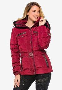 Cipo & Baxx - Winter jacket - burgundy - 4