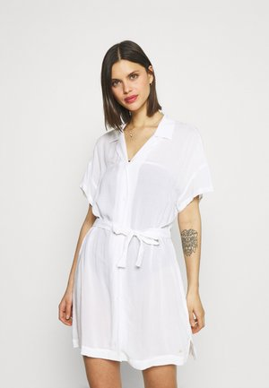 SIGNATURE DRESS - Accessorio da spiaggia - white