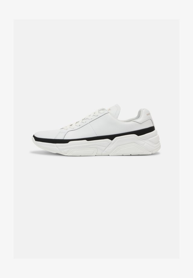 Sneakers basse - off white/black