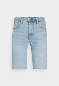 Levi's® - SLIM SHORT - Jeansshort - light-blue denim - 4