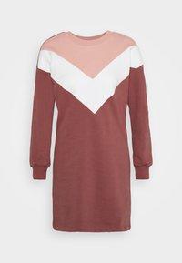 ONLY - ONLASHLEY DRESS  - Kjole - rose dawn/color blocking rose/cd/ap - 4