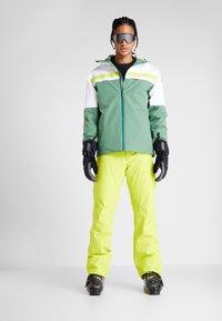 Head - ALPINE JACKET  - Skijakke - forest green/white - 1