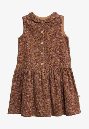 PENNY - Shirt dress - caramel flowers