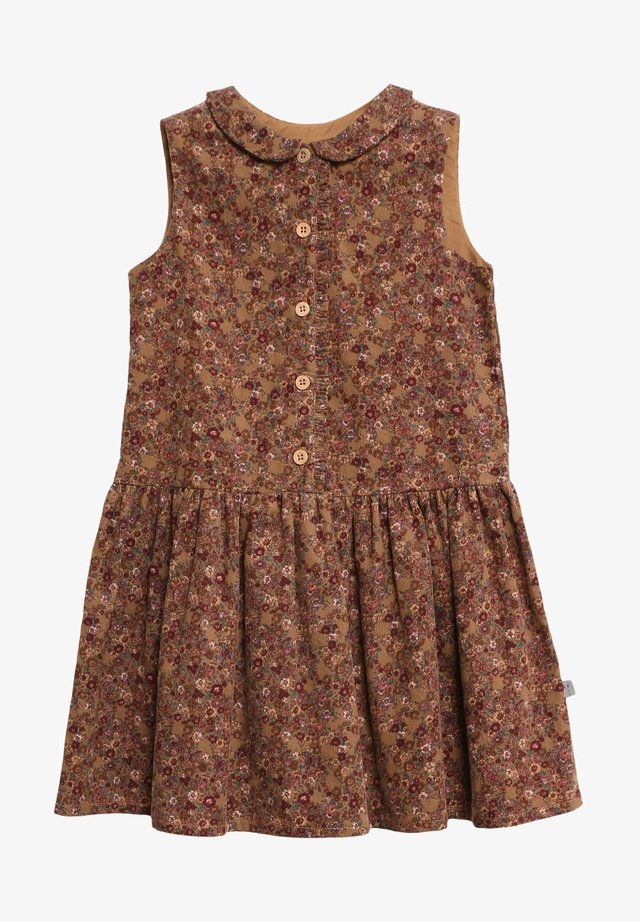 PENNY - Shirt dress - caramel flowers