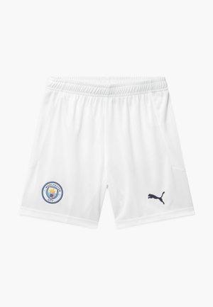 MANCHESTER CITY UNISEX - Sports shorts - white/peacoat