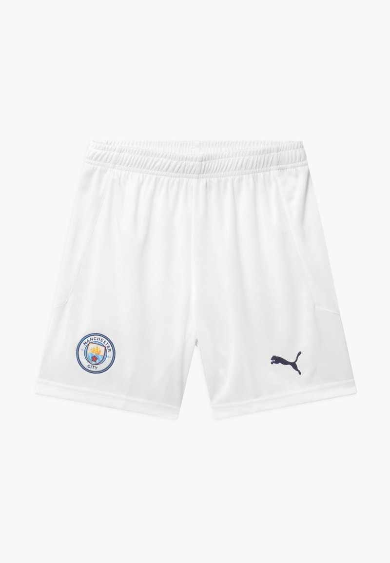 Puma - MANCHESTER CITY UNISEX - Sports shorts - white/peacoat