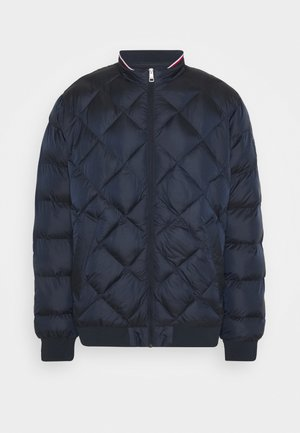 TWO TONES PADDED - Bomber Jacket - blue