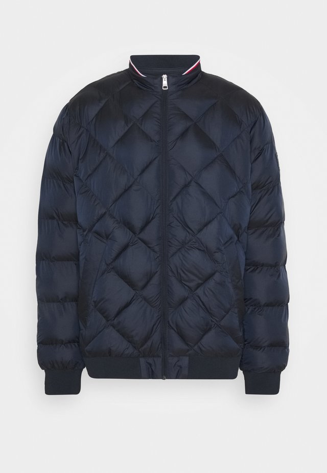 TWO TONES PADDED - Bomber bunda - blue