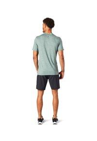 Smartwool - T-shirt print - sage heather - 1