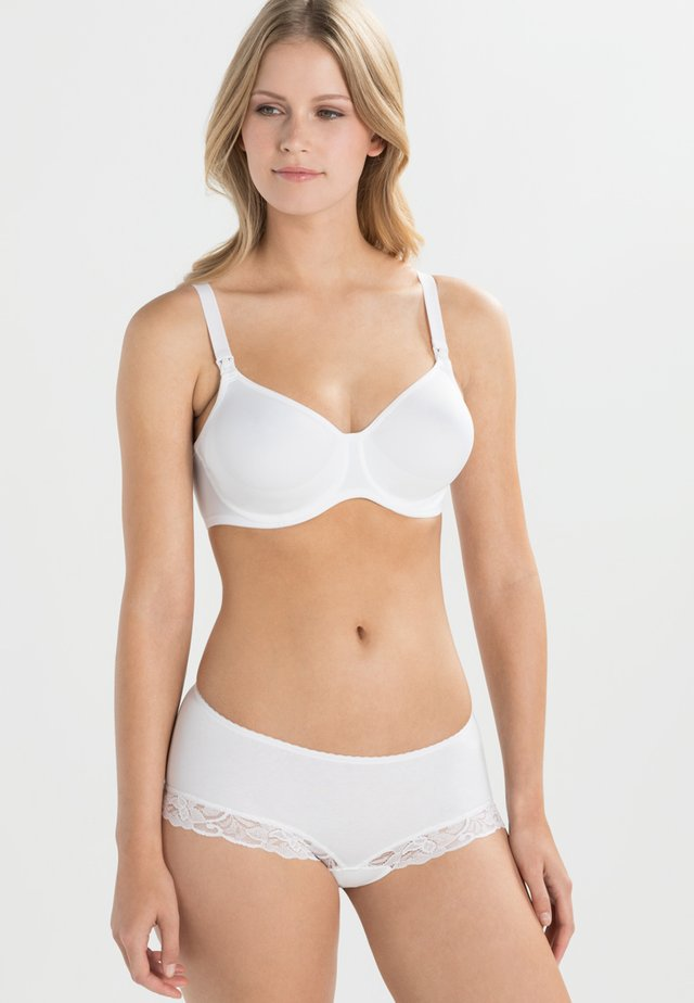 BASIC STILL-BH NURSING BRA - Underwired bra - weiß