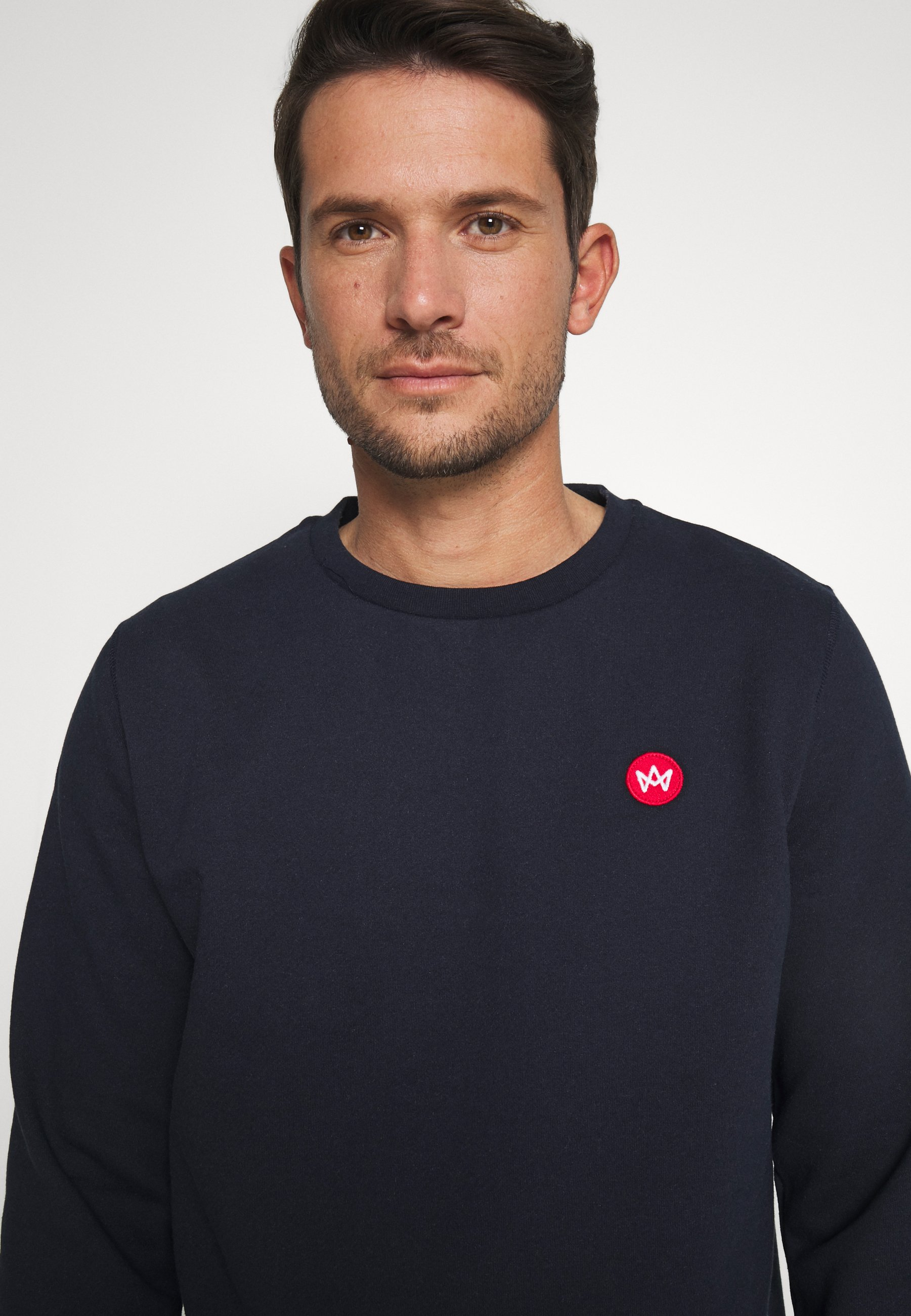 Kronstadt Lars Recycled - Sweatshirt Navy/mørkeblå