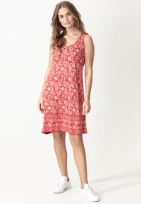 Indiska - DANYLYNN - Jersey dress - red - 0