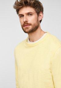 s.Oliver - Sweatshirt - light yellow - 4