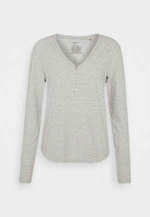 NIGHT ANNELIE - Pyjama top - light grey melange
