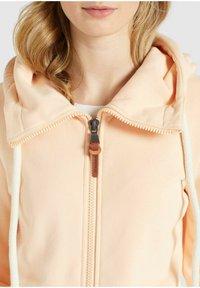 khujo - WANARI - Zip-up sweatshirt - apricot - 7