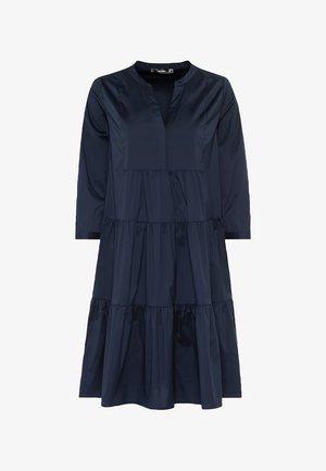 MIT STUFENVOLANTS - Day dress - indigo