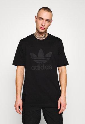 WARMUP TEE - T-shirts med print - black