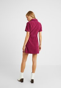 Fashion Union Petite - RIO FASHION UNION BELTED MINI DRESS - Day dress - cranberry - 3
