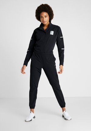 LONG SLEEVE JUMPSUIT - Trainingsanzug - black