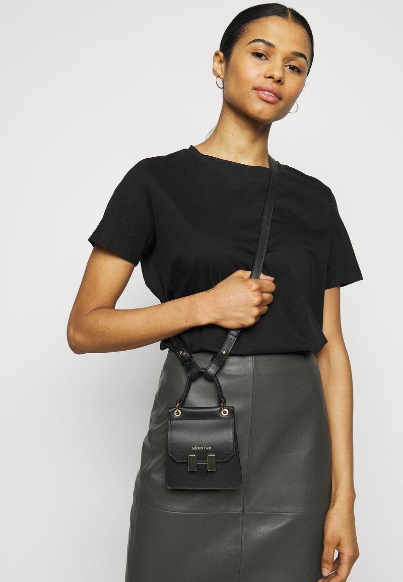 Maison Hēroïne - MARLENE NANO - Handbag - black