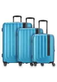 march luggage - SET - Luggage set - omega blue - 1