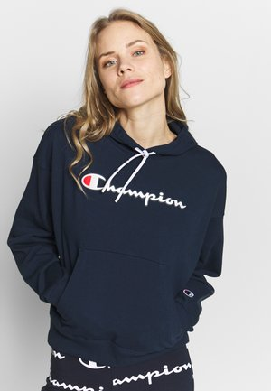 HOODED - Jersey con capucha - dark blue