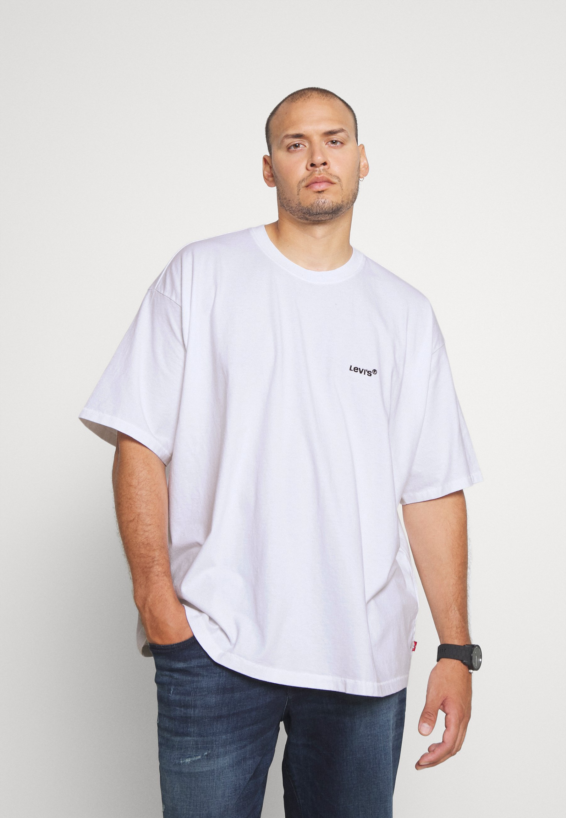 Uomo BIG TAB VINTAGE TEE - T-shirt basic