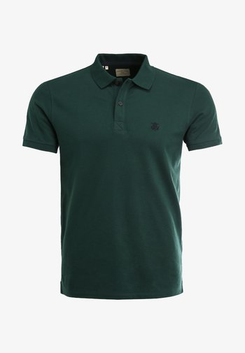 SLHARO EMBROIDERY - Polo shirt - trekking green